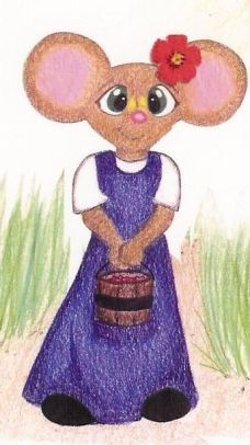 Annie Mouse stands alone